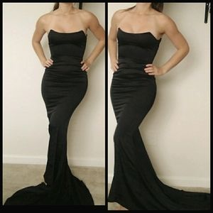 Black formal dress XS